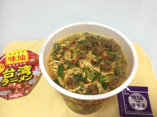 味仙台湾ラーメンカップ麺
