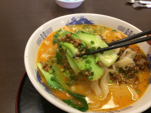 四川胡麻坦々刀削麺