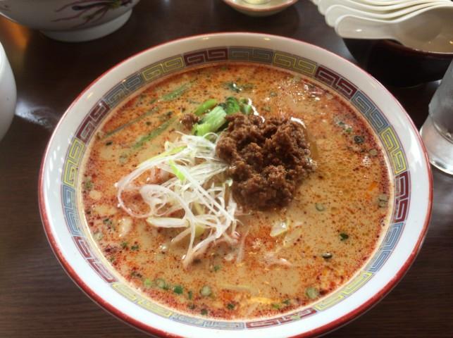秋田市で担担麺を食べたい!たんたん倶楽部という専門店へ行ってきた!